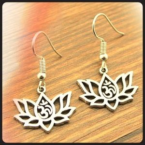 Jewelry - Lotus OM🕉 Earrings